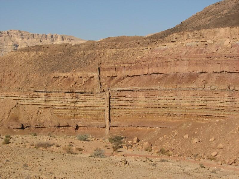 הדייק- תופעה גאולוגית במכתש רמון